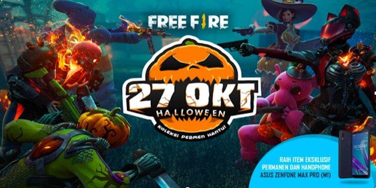 free fire indonesia update october 2018 halloween