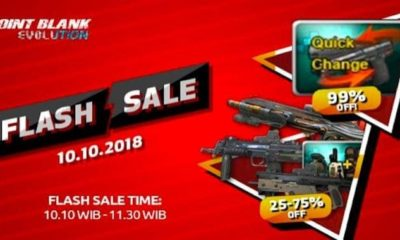 point blank evolution flash sale october