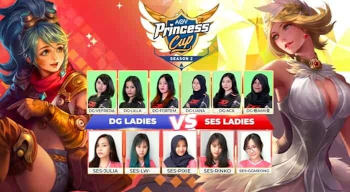 aov princess cup 2018 season 2 grand final