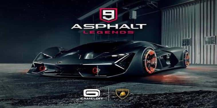 asphalt 9 legends lamborghini