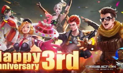 crisis action 3rd anniversary