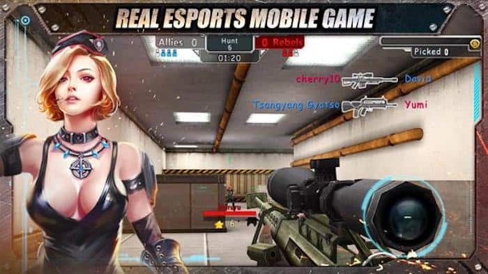 crisis action real esports mobile game