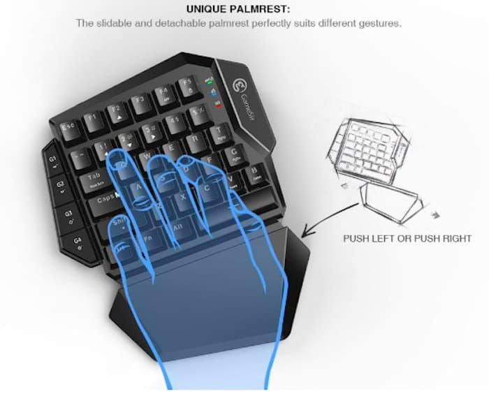 gamesir vx aimswitch unique palmrest
