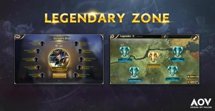 arena of valor indonesia update desember 2018 legendary zone