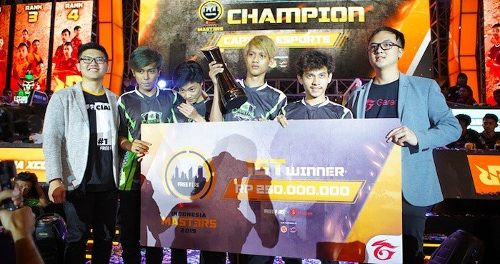 free fire shopee indonesia masters 2019 capital esports 2019