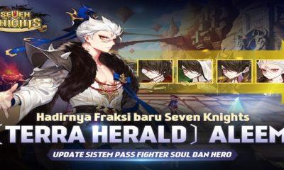 seven knights update hero aleem terra herald