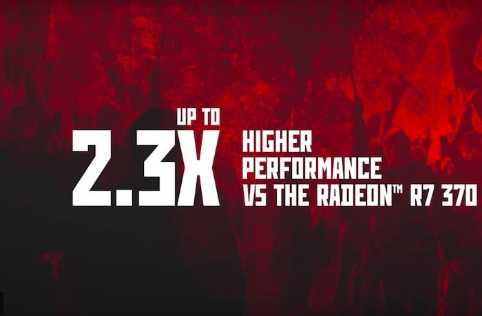 amd radeon rx 570 higher performance vs radeon r7 370