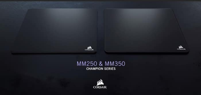 corsair mm250 mm350 champion series mouse pads