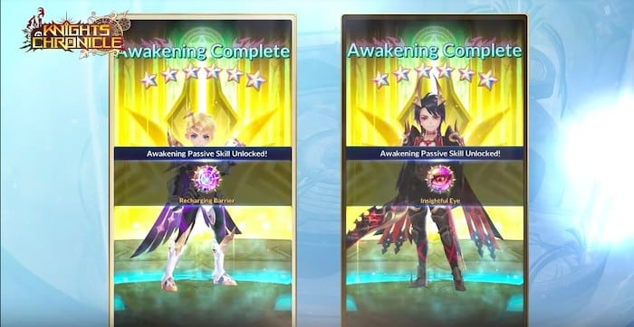 knights chronicle season 2 awakening passive skill