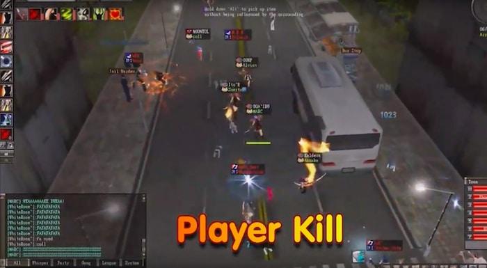 new ran online player kill