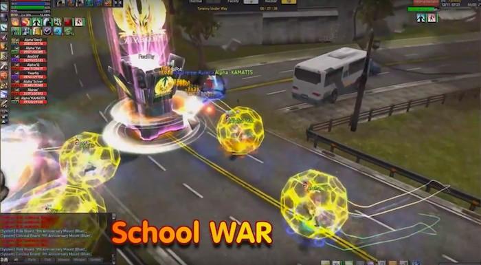 new ran online school war