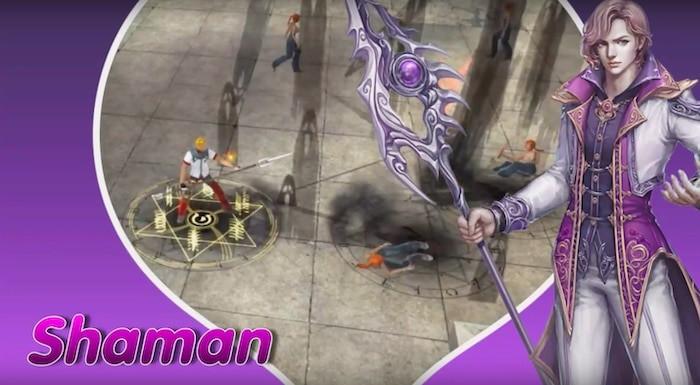 new ran online shaman