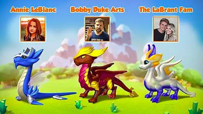 stronger together dragon mania legends influencers