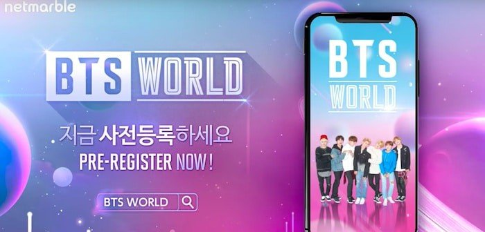 bts world pre register