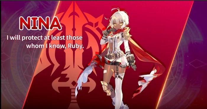 knights chronicle major update hero nina