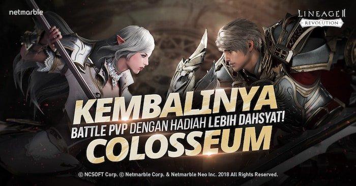 lineage 2 revolution indonesia update colosseum