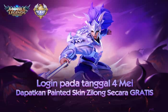 mobile legends painted skin zilong gratis