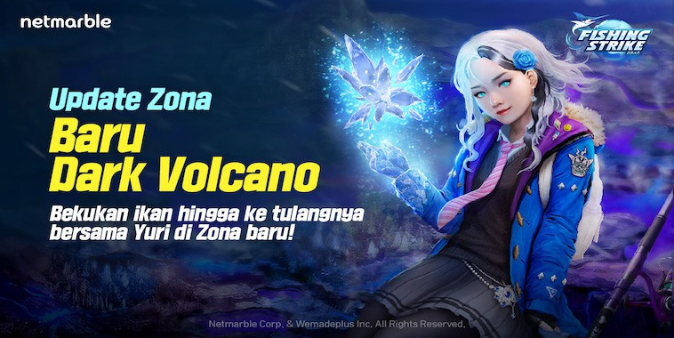 Fishing Strike Rilis Update 'Dark Volcano'