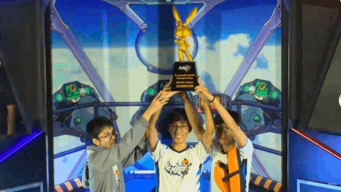 sea pac honkai berdampak 3 pemenang final kejuaraan
