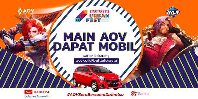 Pendaftaran Turnamen AOV Battle for Ayla Telah Dibuka