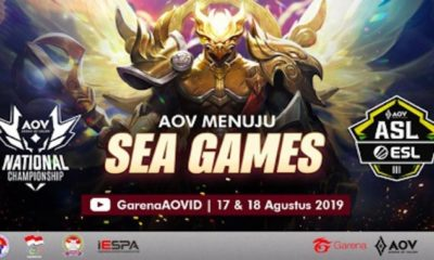 arena of valor menuju sea games 2019