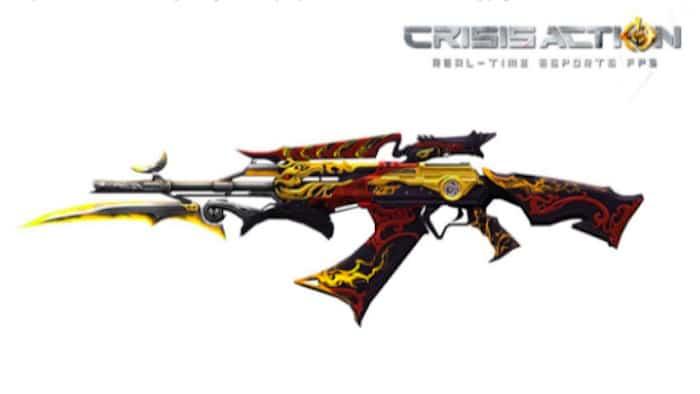crisis action god of evil ak 47