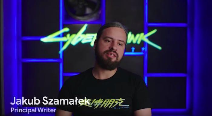 cyberpunk 2077 jakub szamatek