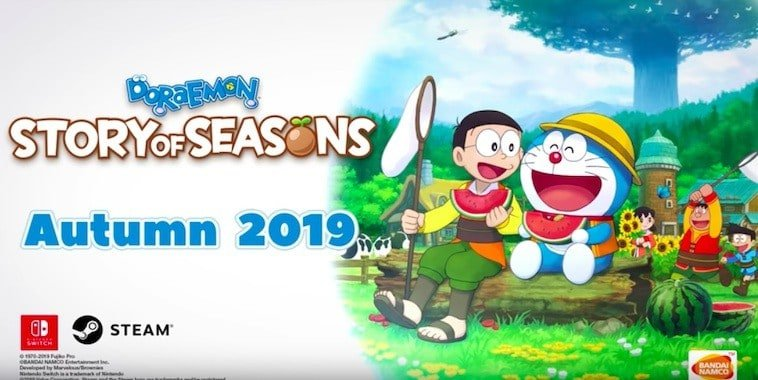 doraemon story of seasons autumn 2019