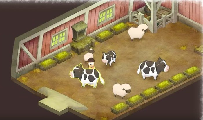 doraemon story of seasons cow