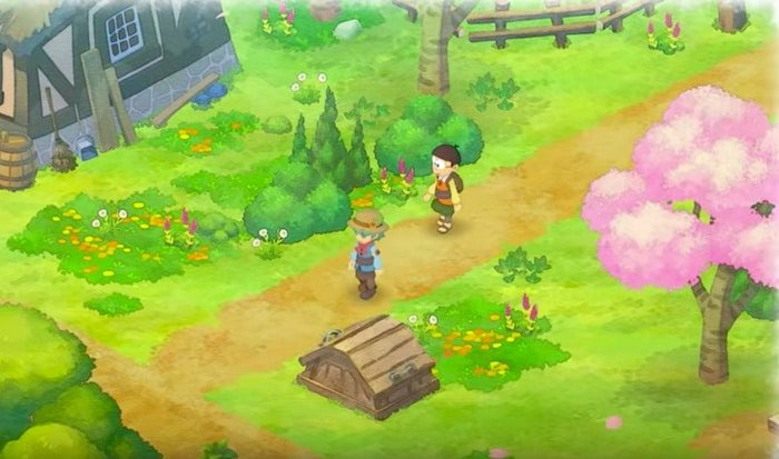 doraemon story of seasons nobita early game