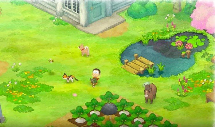 doraemon story of seasons nobita relaxing