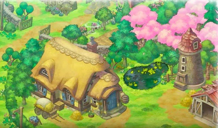 doraemon story of seasons village