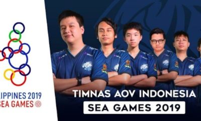 evos aov timnas aov indonesia sea games 2019