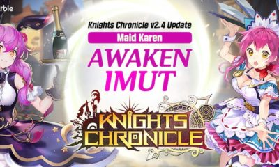 knights chronicle update hero awaken karen maid