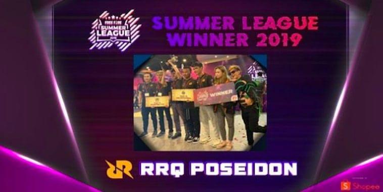 rrq poseidon juara free fire summer league 2019