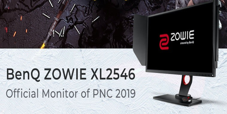 zowie xl2546 pubg nations cup 2019