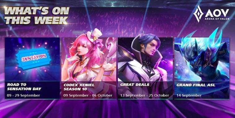 arena of valor event september 2019