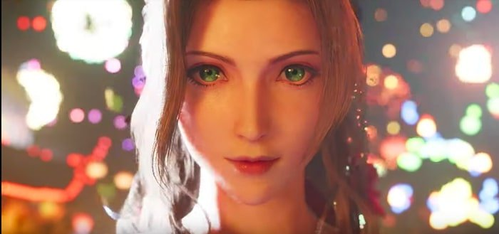 final fantasy vii membuat ulang aerith