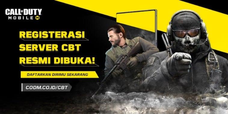 garena call of duty mobile registrasi server cbt