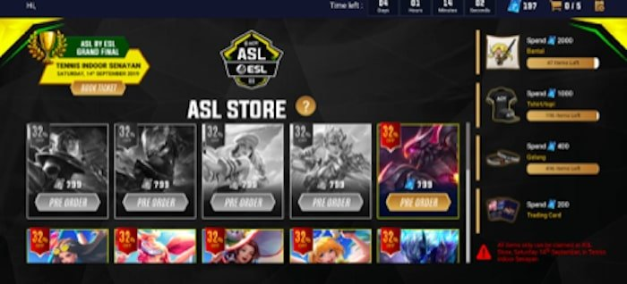 grand final asl by esl season 3 asl store