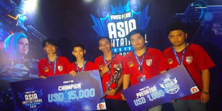 juara free fire asia invitational 2019