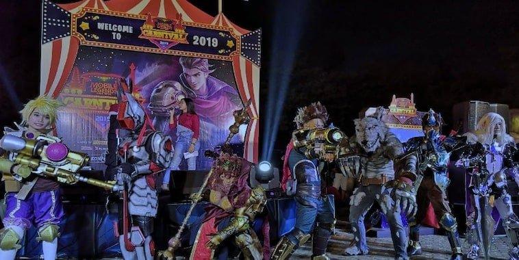 mobile legends bang bang carnival 2019 bekasi