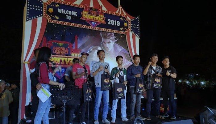 mobile legends bang bang carnival 2019 bekasi mini tournament