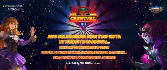 mobile legends bang bang carnival 2019 hero city badge