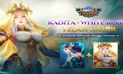 mobile legends bang bang kadita white robin skin