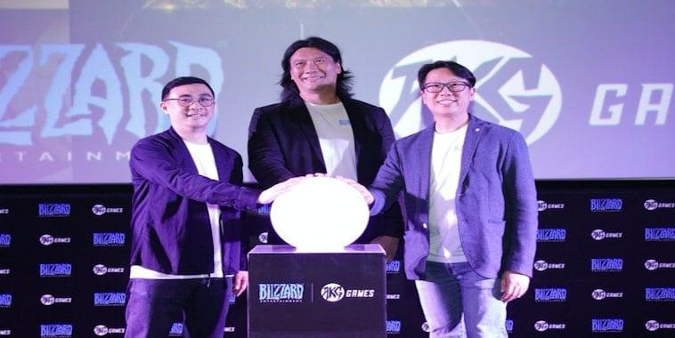 AKG Games (Salim Group) dan Blizzard Umumkan Kemitraan Strategis