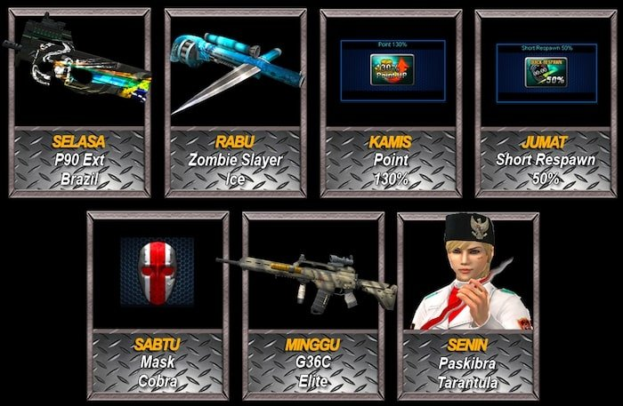 point blank zepetto event oktober 2019 login time