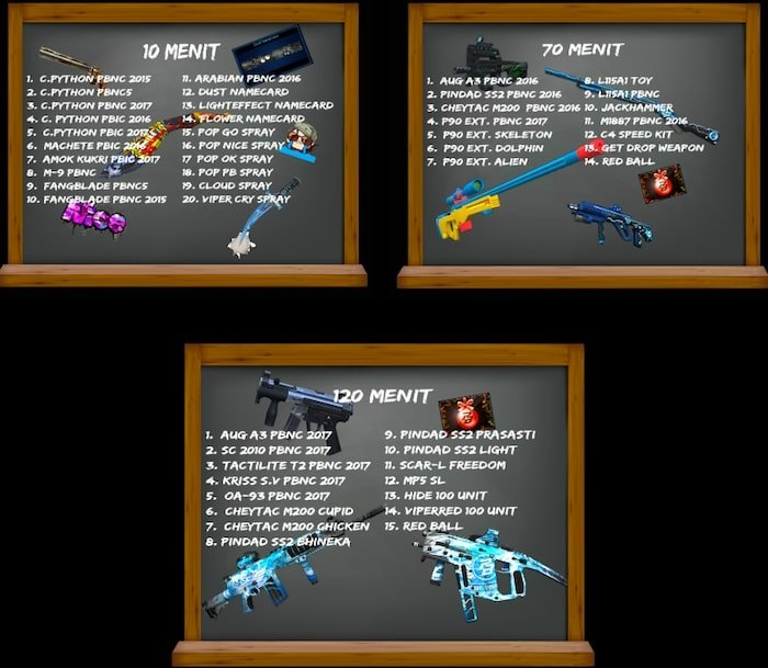 point blank zepetto event oktober 2019 play time