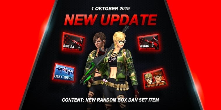 INI Update Point Blank Zepetto di Oktober 2019