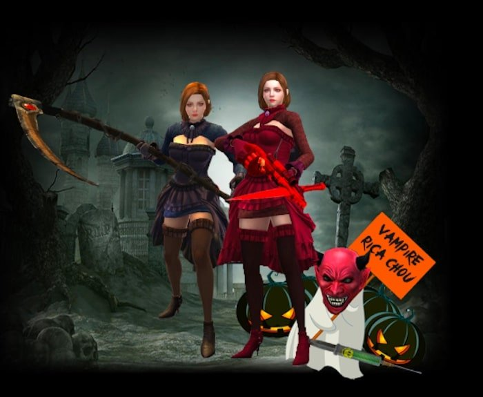 point blank zepetto update oktober 2019 halloween character